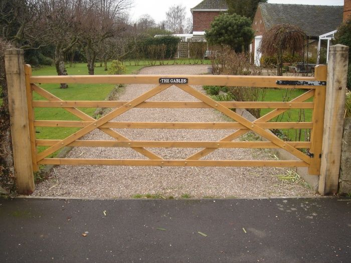Farm Gates Farm Style Custom Drive Gates High Quality Garden
