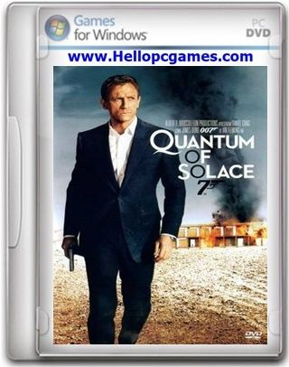 007 Quantum of Solace PC Download, cover game