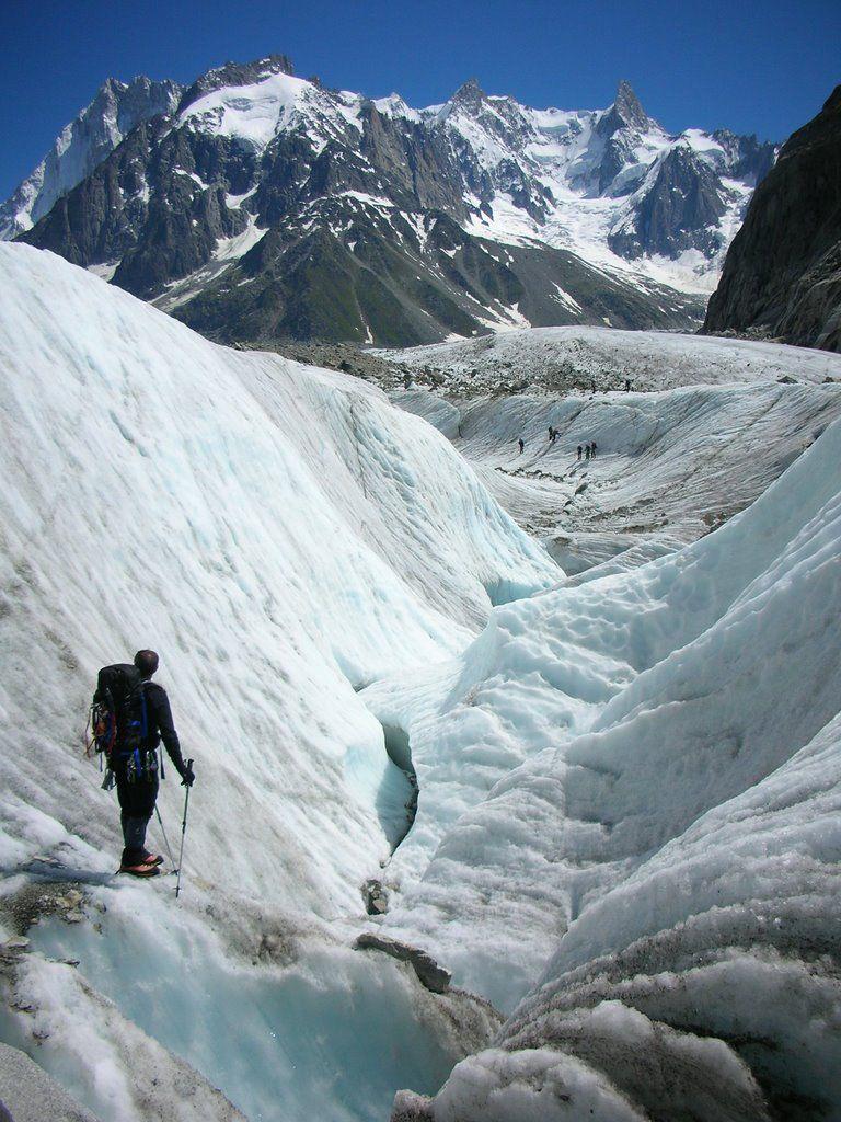 Mer de Glace e Monte Bianco - Chamonix, Francia