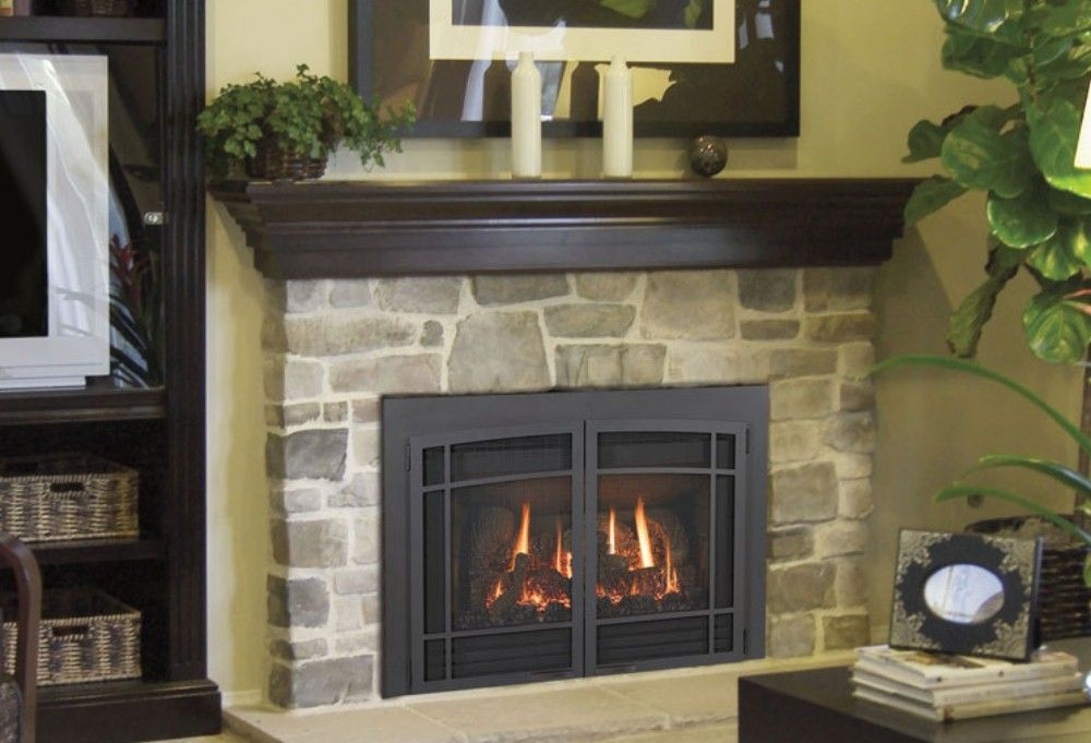 Wood Fireplace wood fireplace inserts : The 25+ best Gas fireplace inserts ideas on Pinterest | Gas ...