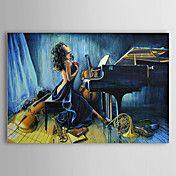 Hand geschilderd olieverfschilderij Mensen Na... – EUR € 98.99