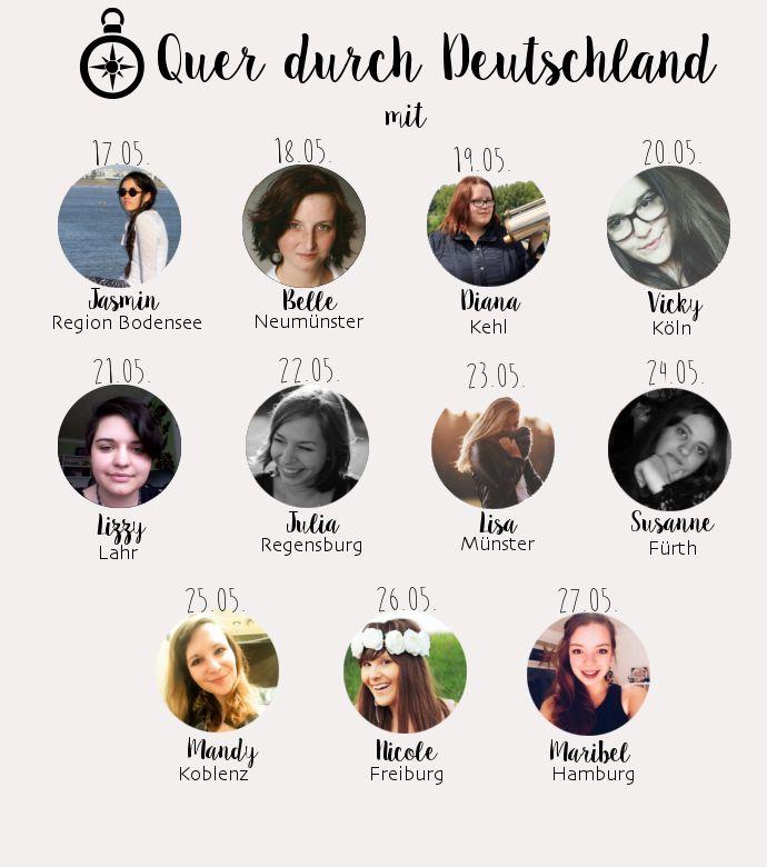 Quer durch Deutschland - Eine Blogparade » Miss Kelpie