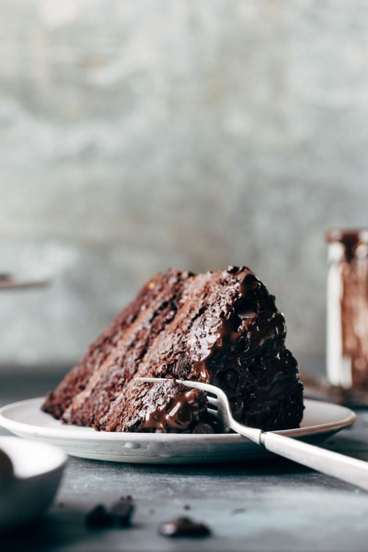 Blackout Chocolate Cake Blackout Chocolate Cake | the best chocolate cake with a chocolate chip exterior just to be a little OMG. |