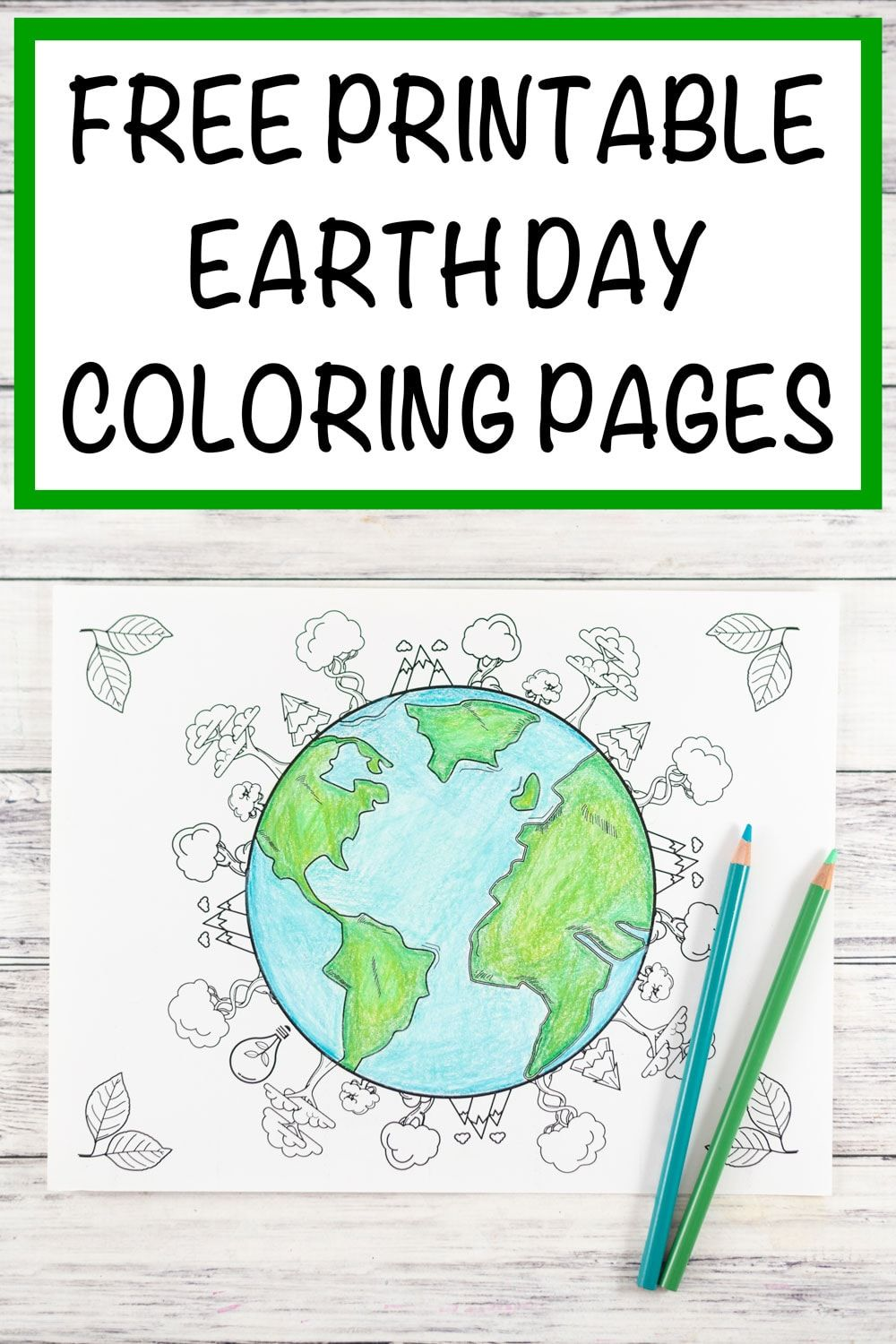 Snag 20 Free Printable Earth Day Coloring Pages Environmental Coloring Pages For Adults An Earth Day Coloring Pages Earth Coloring Pages Earth Day Worksheets