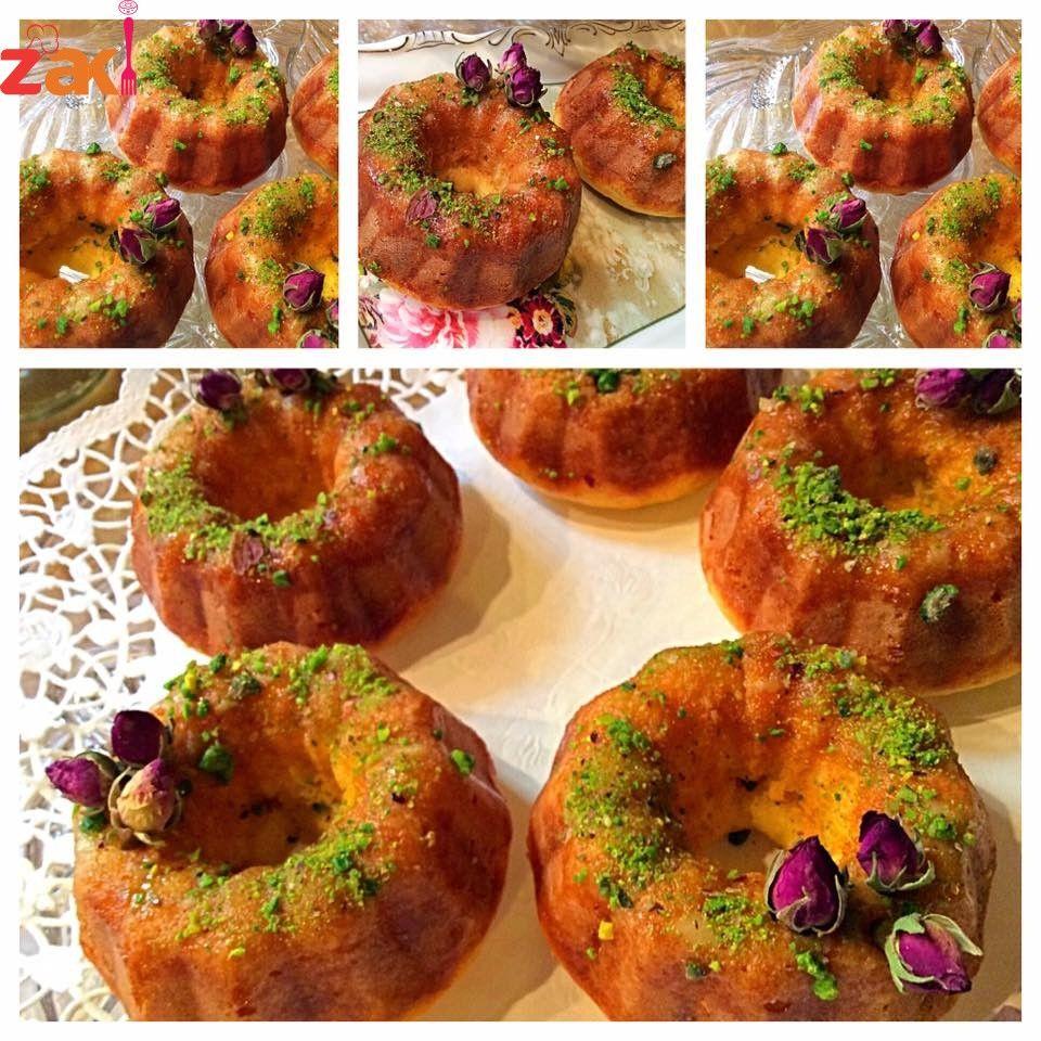 مقادير كيكة الزعفران زاكي Food Sweet Bagel