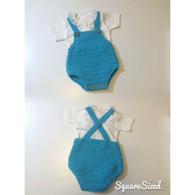 Peto talla 1-3 meses #mantas #crochet #hechoamano #handmade ...