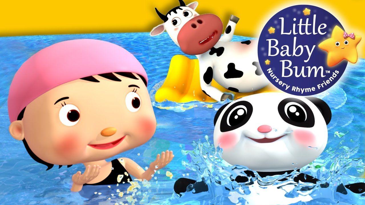 Swimming Song Nursery Rhymes Original Song By Littlebabybum Nursery Rhymes Rhymes For Kids Best Nursery Rhymes