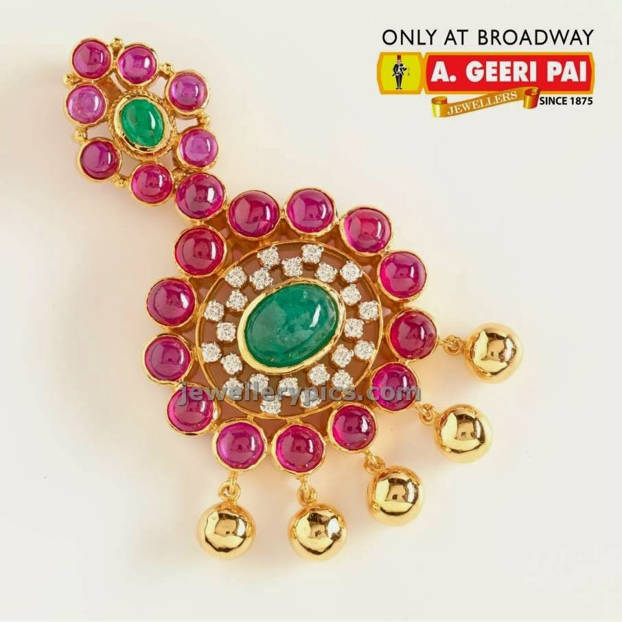 Pai jewellers gold necklace designs latest indian jewellery designs - Latest Indian Jewellery Designs And Catalogues In Gold Diamond And Precious Stones