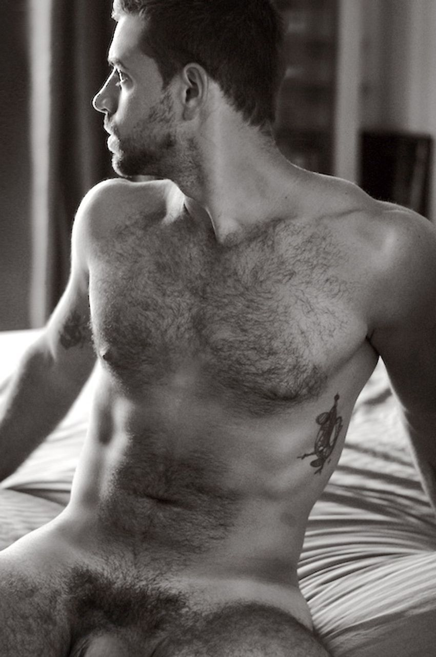 Hairy dude pubes