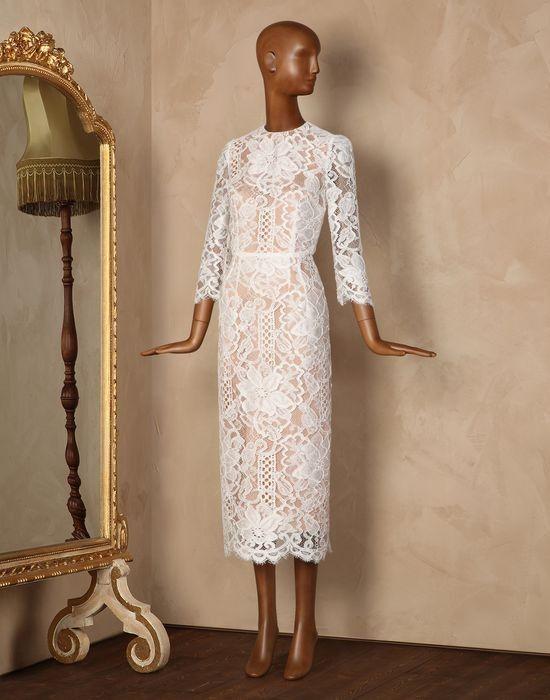 Dolce gabbana macrame lace and silk organza size 8 for Dolce and gabbana wedding dresses