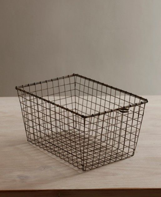 Small Home Gym Ideas: Wire Gym Basket, Would Use This As A Bread Basket
