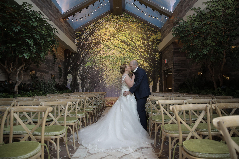 Fairytale Wedding In Las Vegas At The Gl Gardens Garden Venue Indoor Chapel Rustic Chic Weddings Of