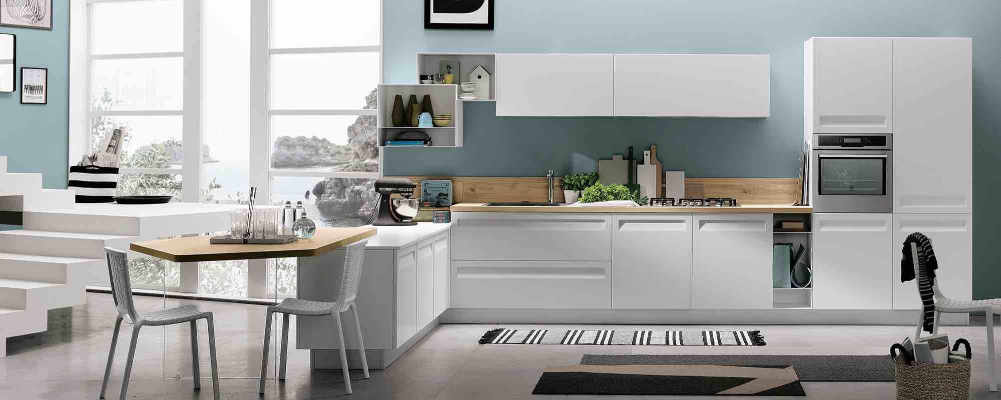 Foto Di Cucine Moderne. Perfect Modello Di Cucina Moderna In Legno N ...