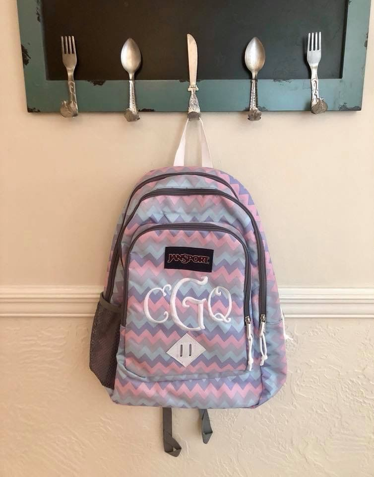how to decorate your jansport backpack