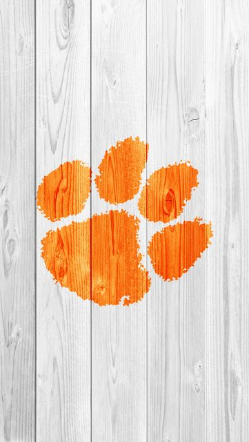 Free Clemson Tigers Iphone Ipod Touch Wallpapers Orange Wallpaper