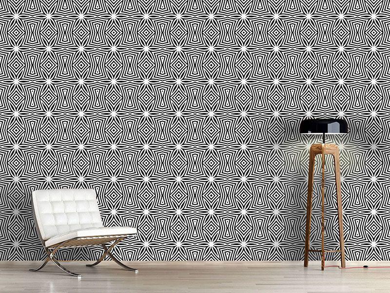 Design #Tapete Zebra Sterne