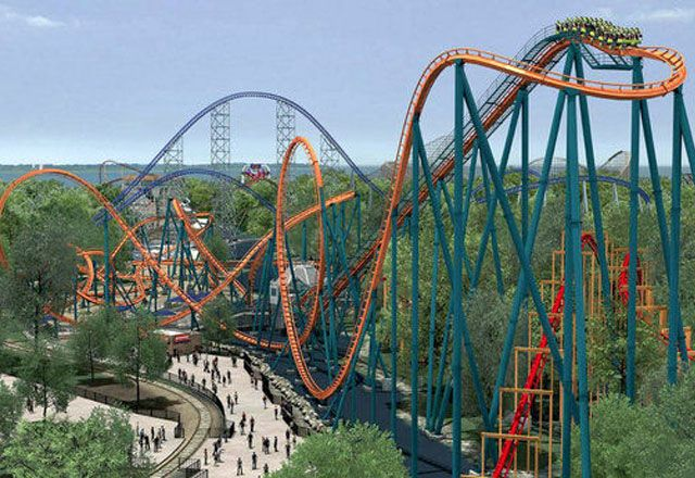 world's scariest roller coasters Rougarou, Cedar Point