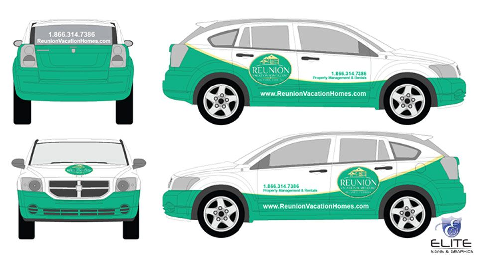 Reunion vehicle wrap 960 517 be vehicle for Car wrap design templates