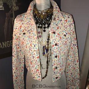 BCBGeneration Jackets & Blazers - 🆕BCBGeneration The Jackson Fruit Denim Jacket NWT