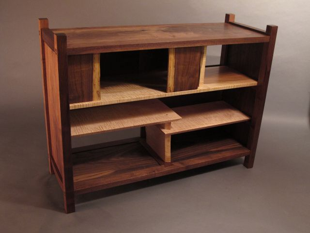 Solid Wood Bookshelves Coffee Tables With Storage Entry And Media Consoles Handmade Custom Furniture Mid Century Modern Zen