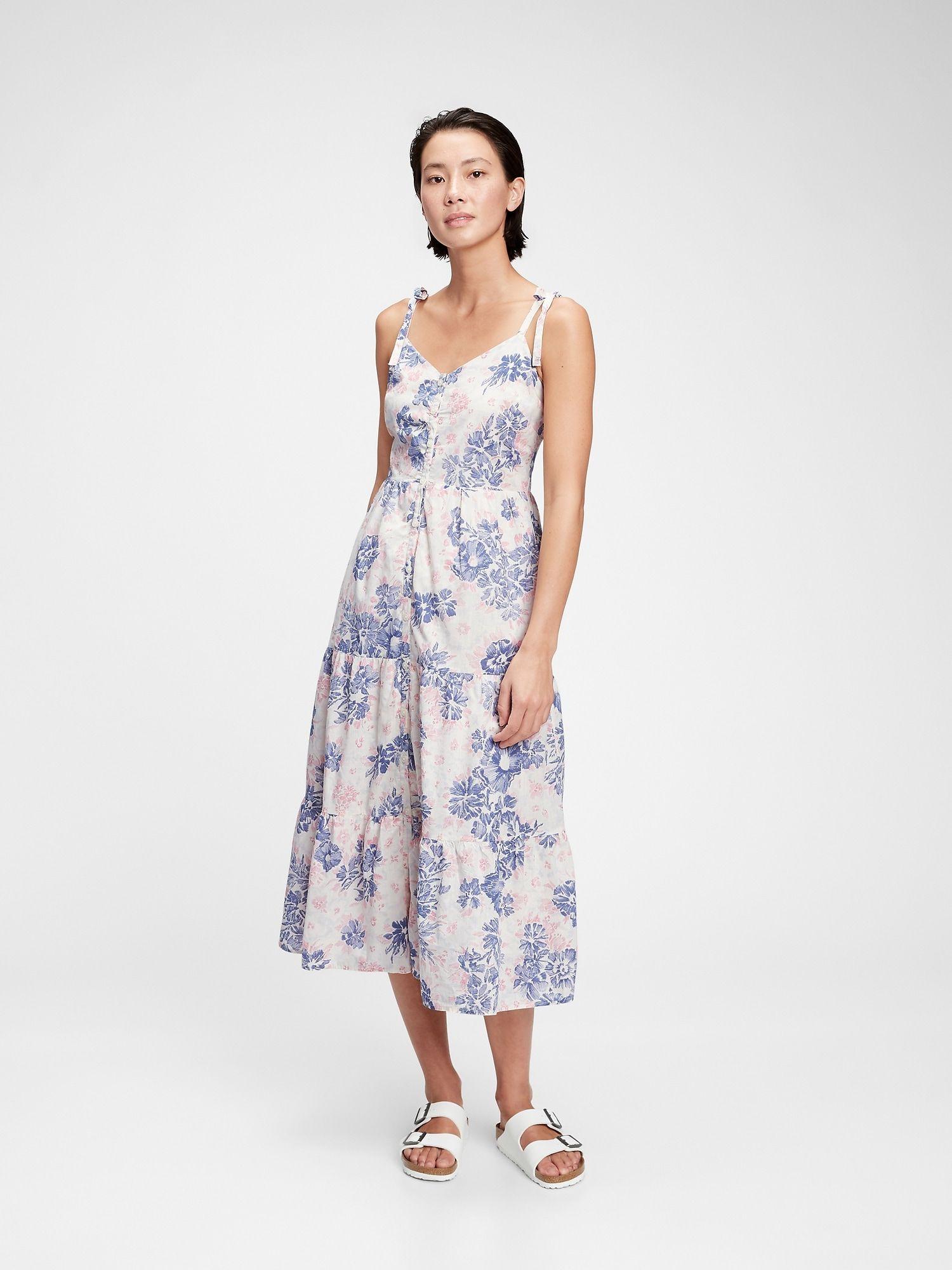 Tiered Cami Midi Dress In 2021 Cami Midi Dress Midi Dress Dresses [ 2000 x 1500 Pixel ]