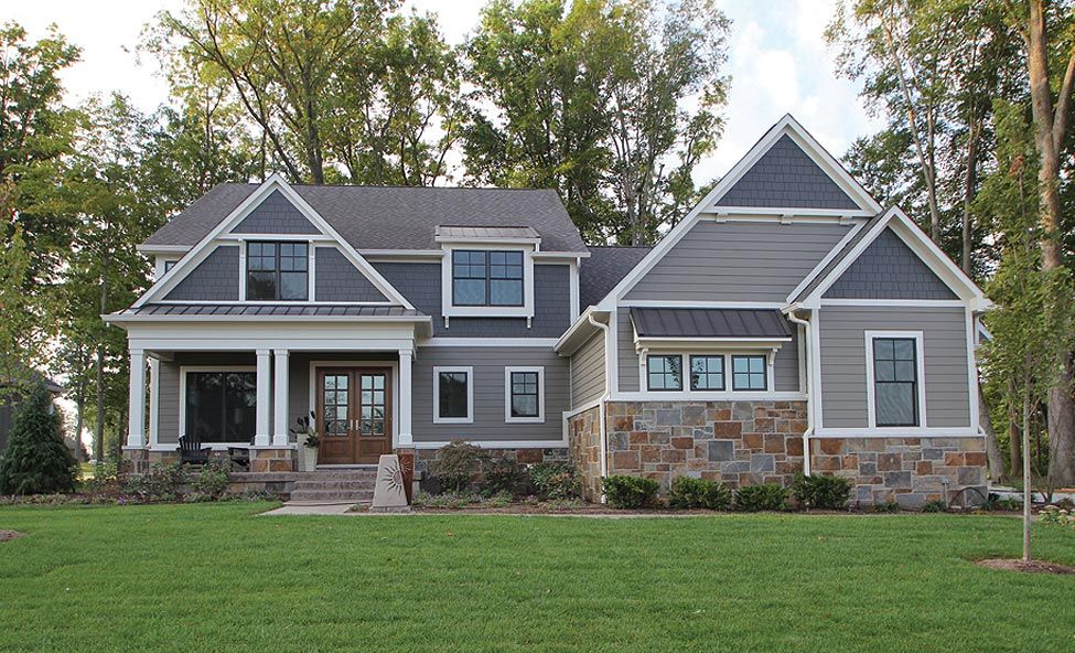 Custom Home Builder Indianapolis Fishers Carmel Noblesville Zionsville Geist Gradison Red Brick House Exterior Brick Exterior House House Exterior Blue