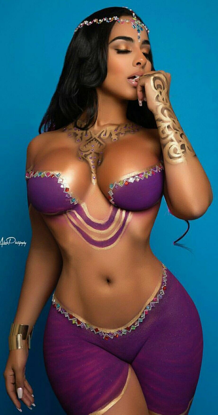 Ayisha Diaz ️ ️ ️ ️ ️ See more at www.spikesgirls.com ...