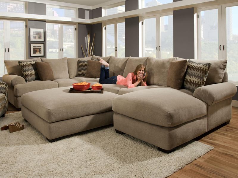 Bacarat Sectional By Oxford Park Comfortable Sectional Sofa Large Sectional Sofa Comfortable Sectional