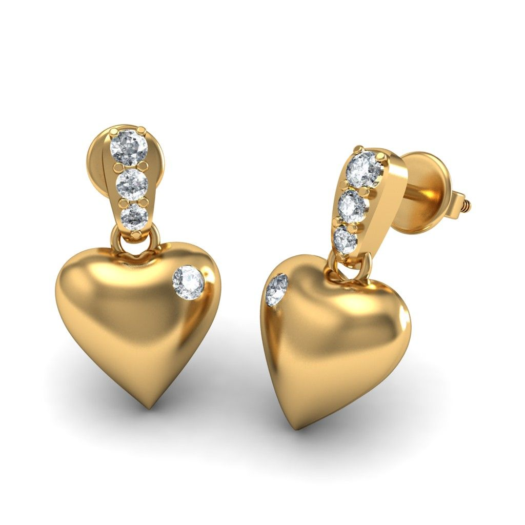 http://www.bluestone.com/earrings/diamond-heart-earrings-in-18kt-yellow-gold~416.html      For all the loving glances, warm embraces, this elegantly crafted heart shaped earrings in 18KT Yellow Gold dotted with Diamonds says everything and more for you. A memorable gift for any occasion.