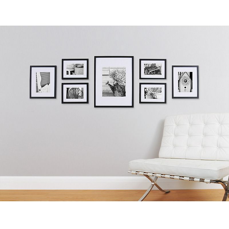 Gallery Perfect Frame Set Natural White Picture John