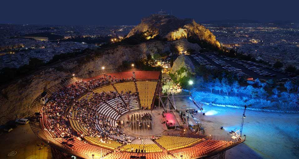 مسرح الكافتيوس Lonely Planet Images Open Air Theater Greece