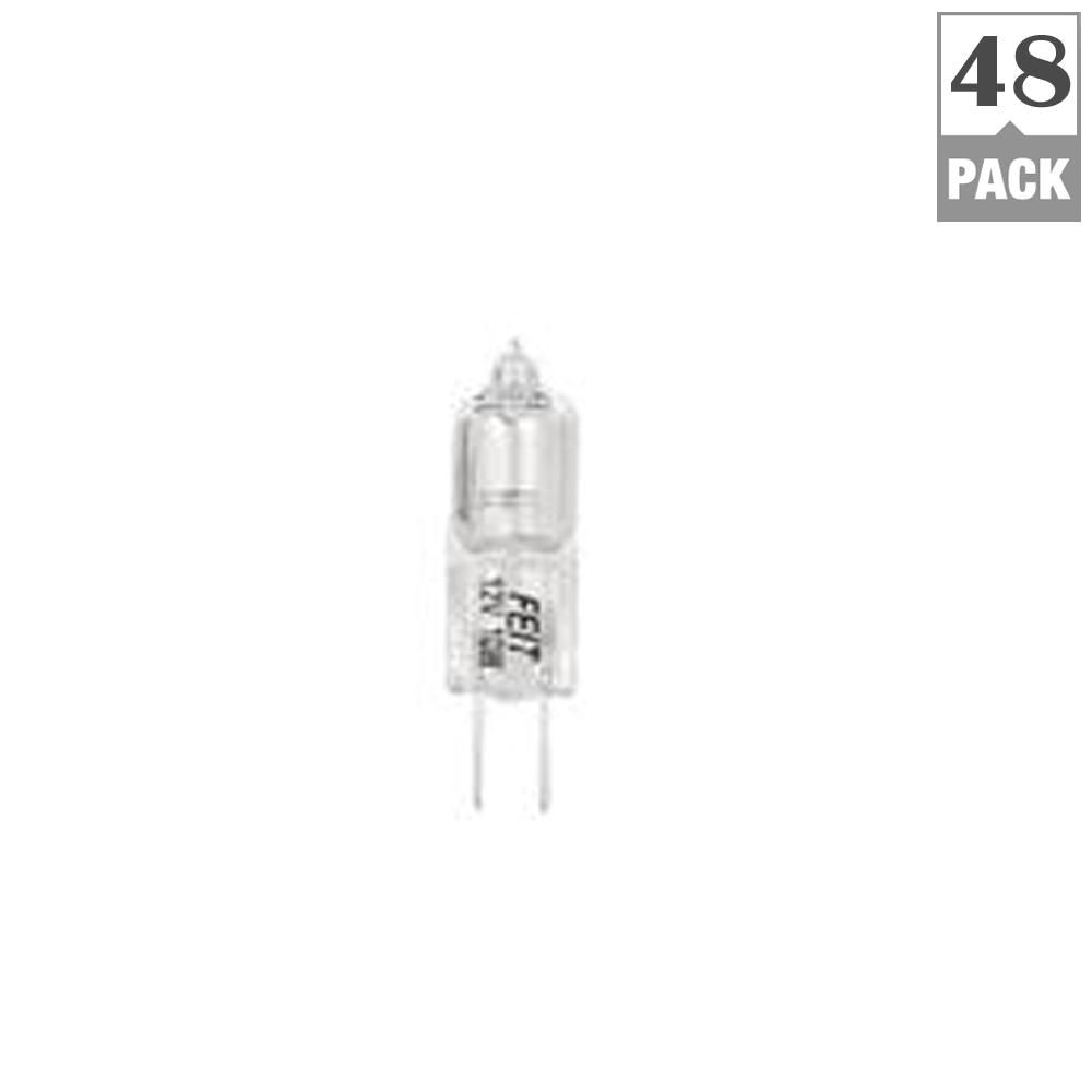 10 Watt Warm White 3000k T3 G4 Bi Pin Dimmable Halogen 12 Volt