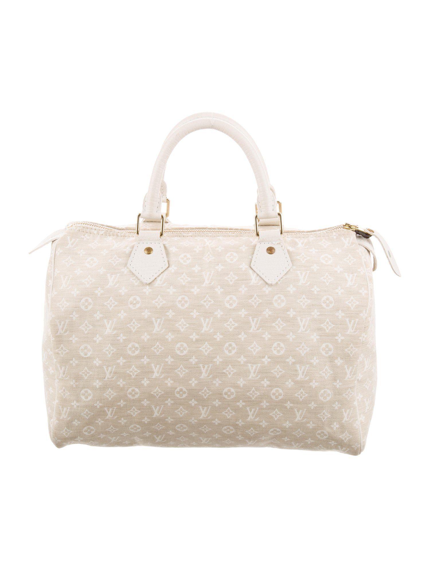 d817fe8fa51b Louis Vuitton Mini Lin Speedy 30 - Handbags - LOU213136