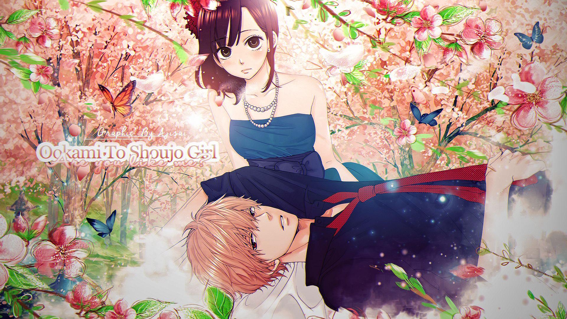 Ayuko Hatta Ookami Shoujo To Kuro Ouji Kyouya Sata Erika Shinohara Wallpaper Princesa Negra Anime Menina Lobo