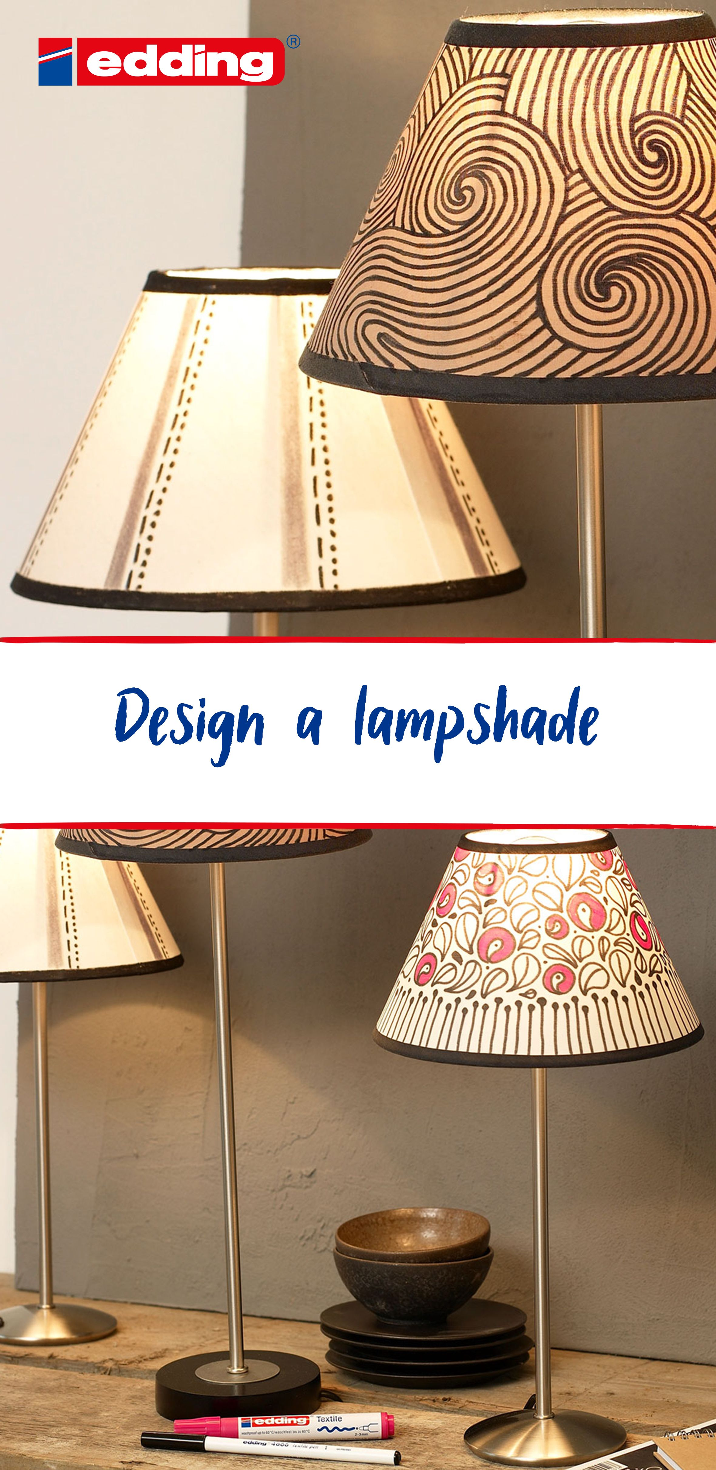 Would you like to jazz up your home by giving your lamp an