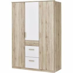 Kleiderschrank Cariba Holzfarben 135 Cm 199 Cm 58 Cm Schranke Kleiderschranke Drehture In 2020 Cupboard Wardrobe Wood Colors Cupboard