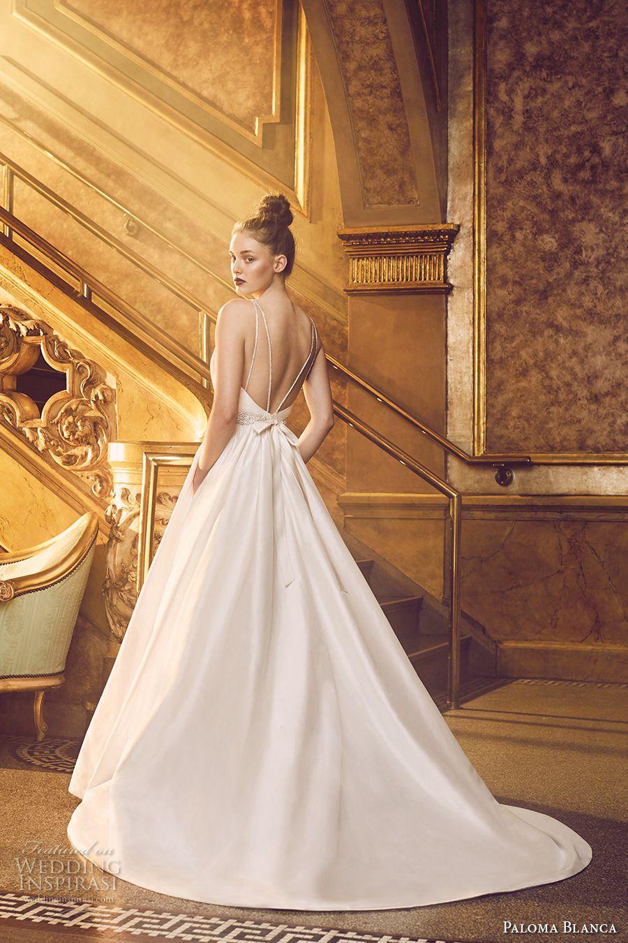 Paloma Blanca Fall 2016 Wedding Dresses