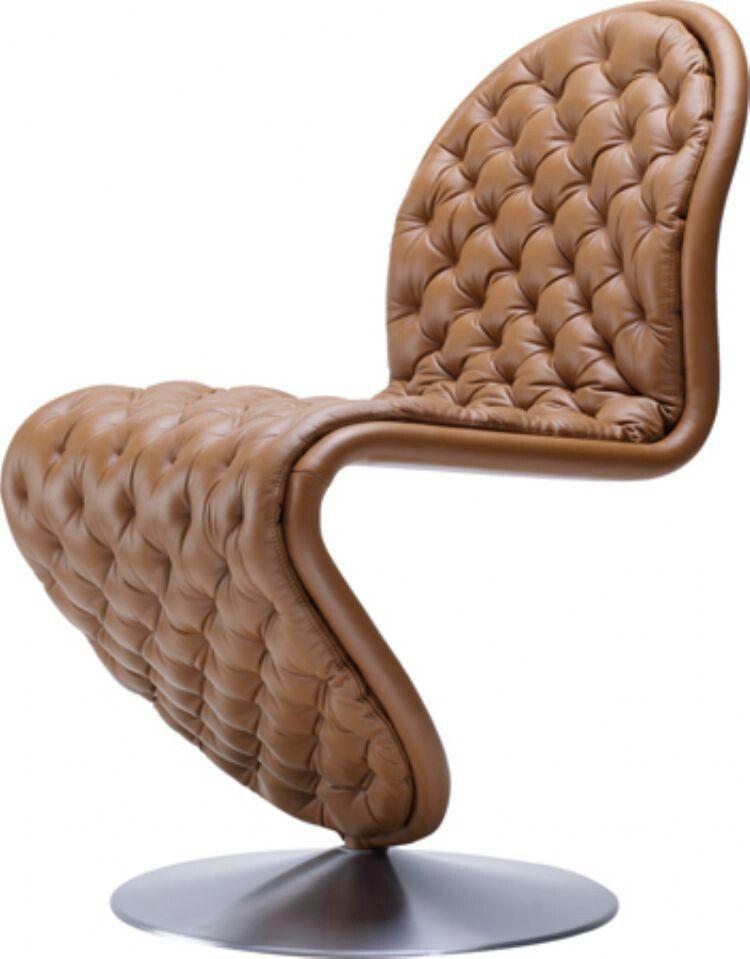 Lækker læderstol!
