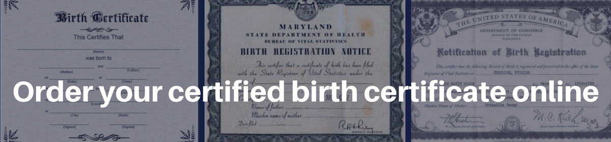Misplaced Your Us Birth Certificate Did You Know You Can Order A