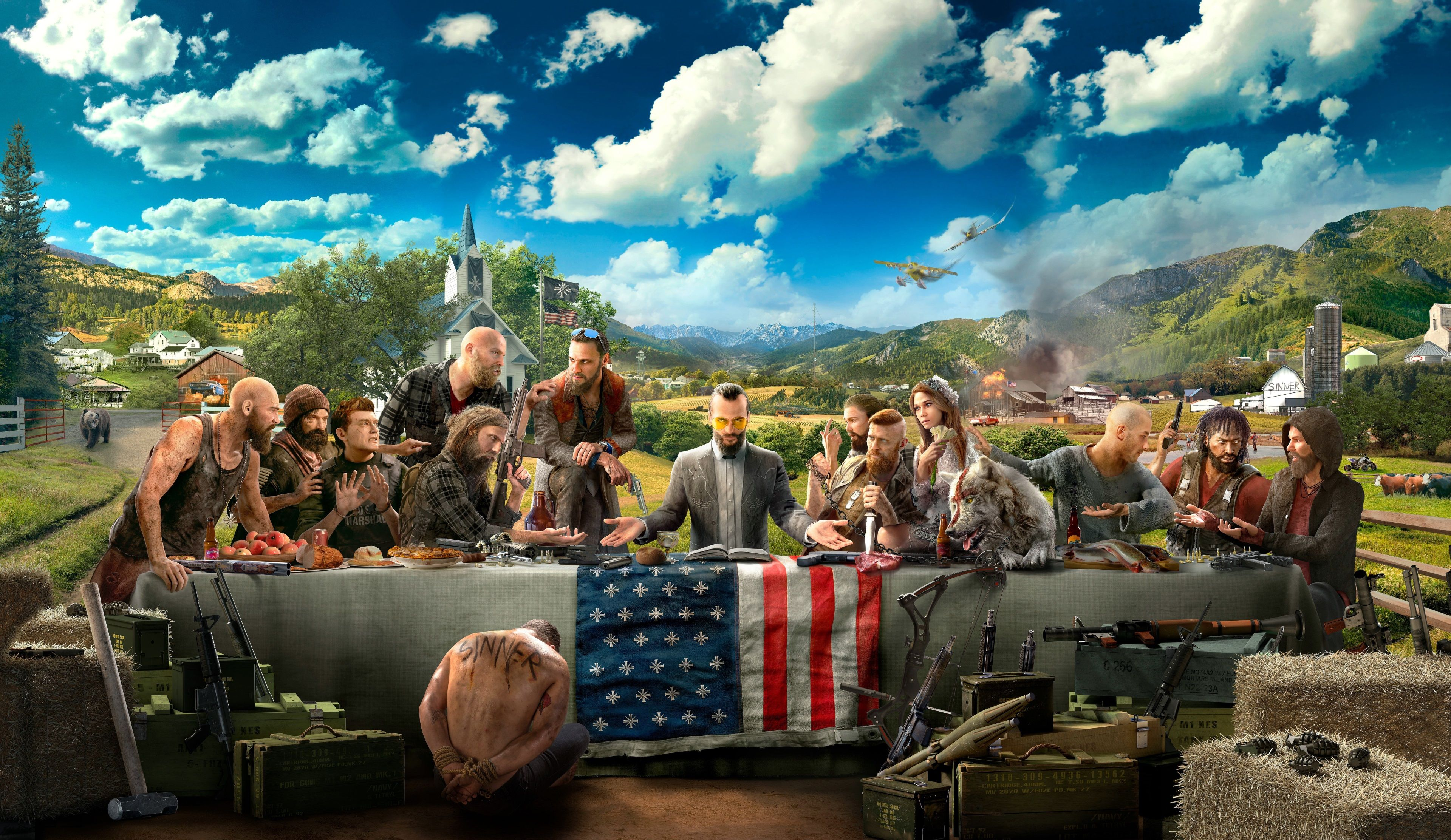 3840x2224 Far Cry 5 4k Wide Wallpaper Download Far Cry 5 Far Cry 5 Game Ubisoft