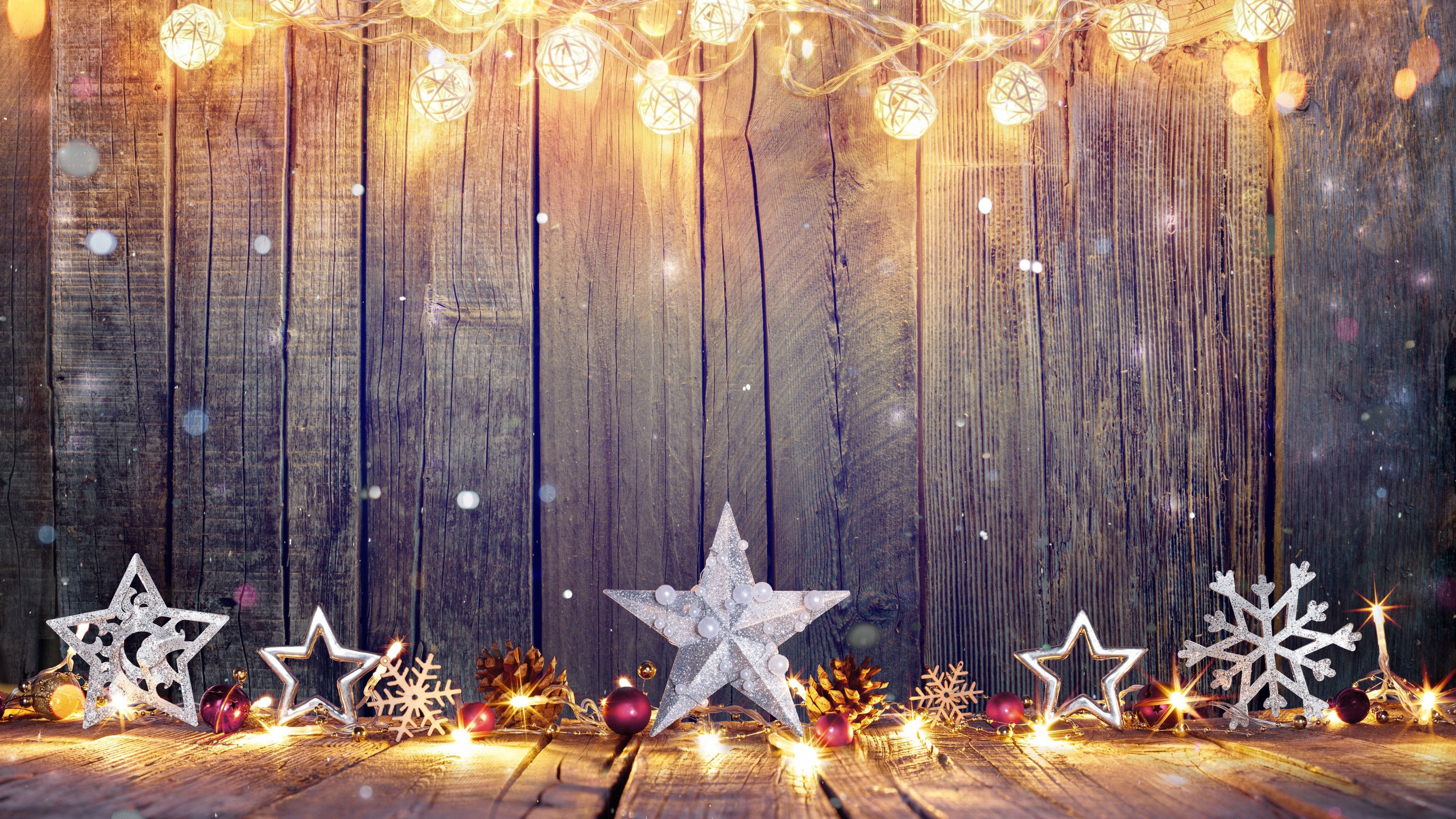 4k Christmas star holidays wallpapers, hdwallpapers