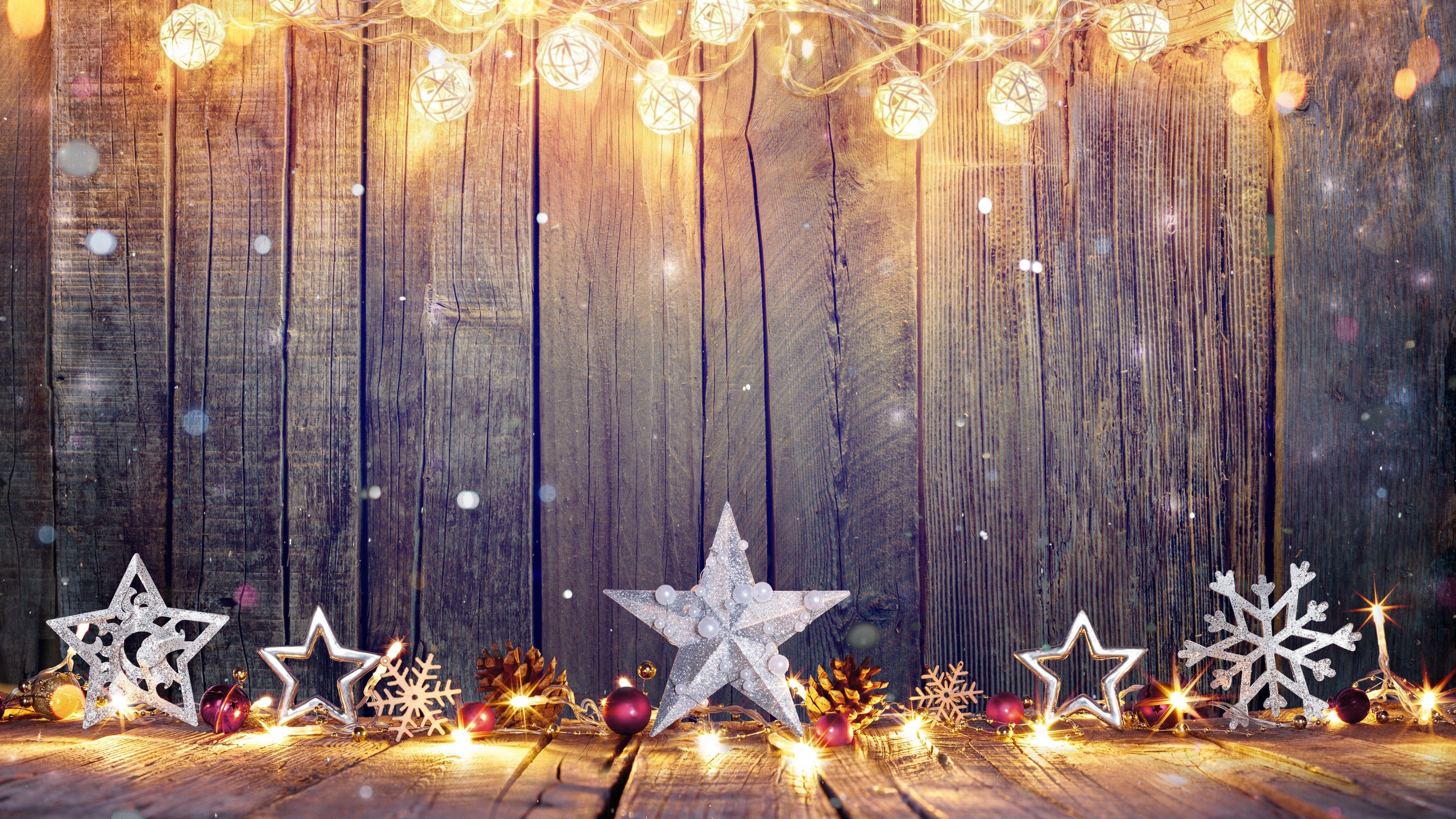 4k Christmas star holidays wallpapers, hdwallpapers