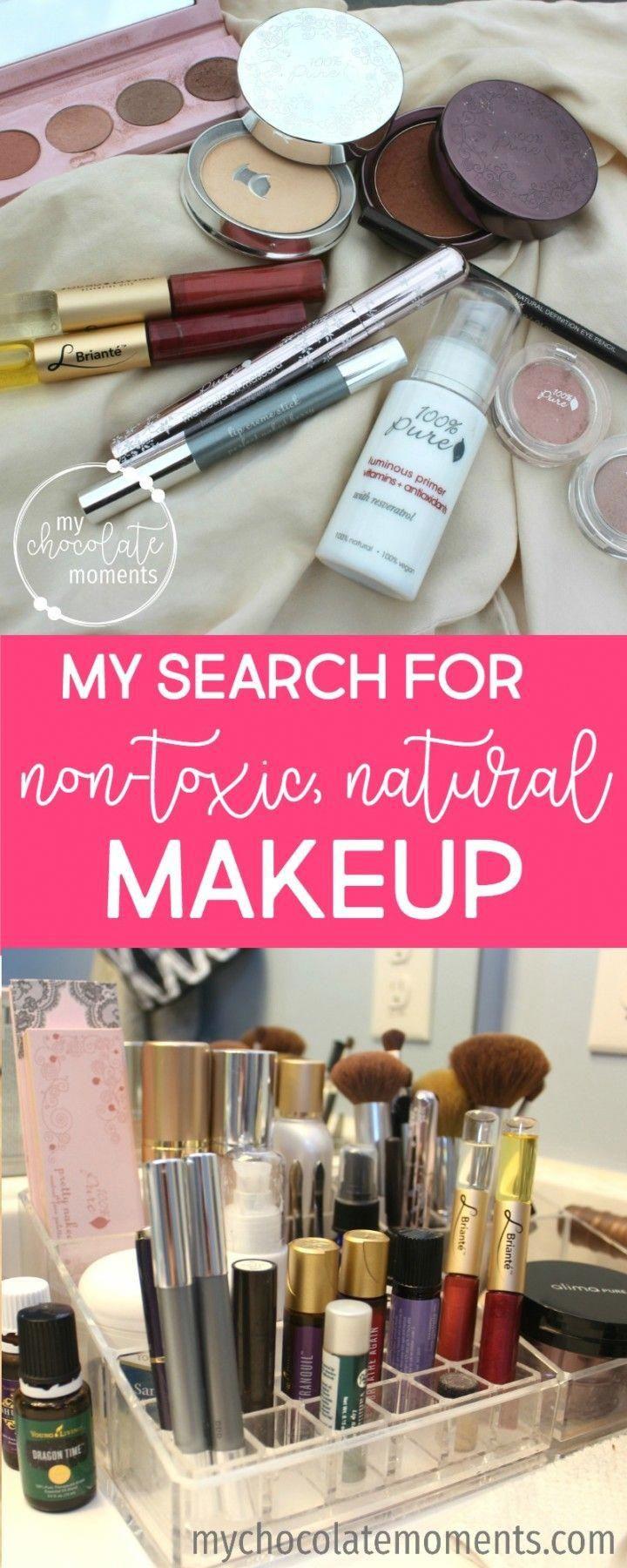natural, nontoxic makeup alima pure and 100 percent pure