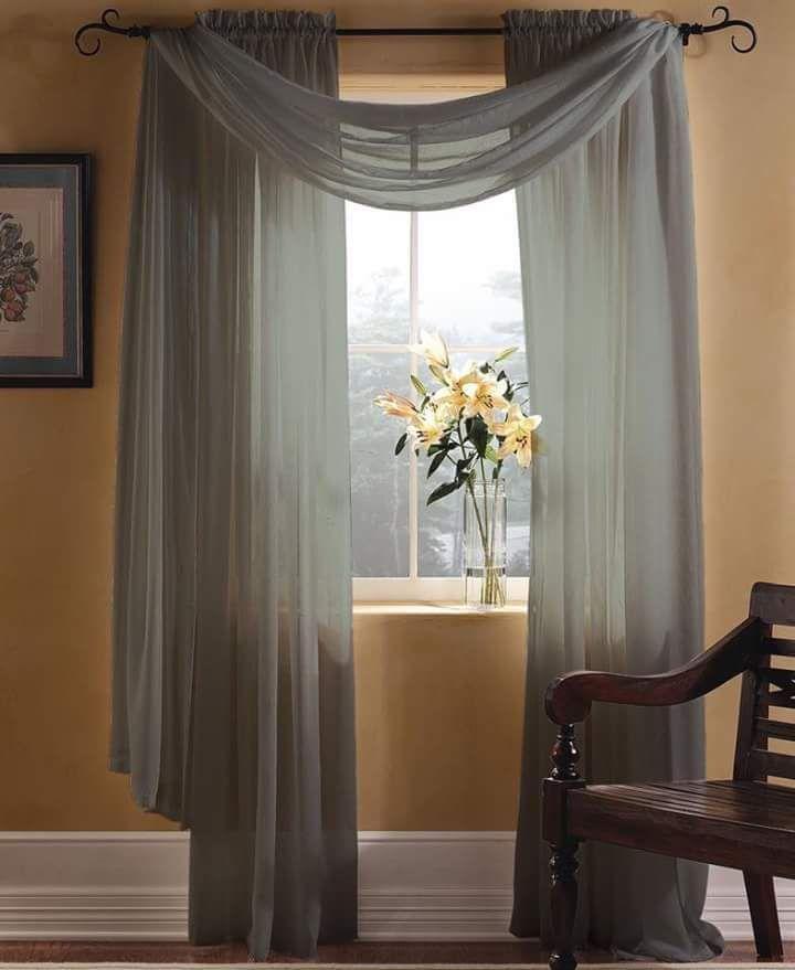 Formas originales de colocar cortinas by artesydisenos for Poner ganchos cortinas