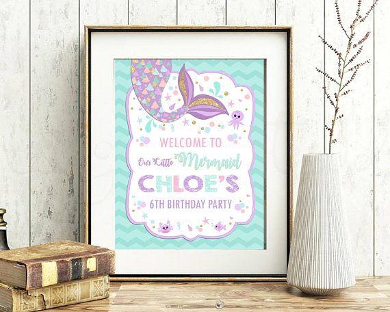 INSTaNT DOWNLoAD Printable JPG Digital File MERMaID Whimsical Decorative Gift Box Template-