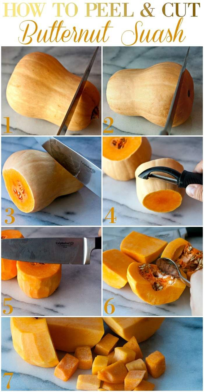 How to Cube Butternut Squash recommendations
