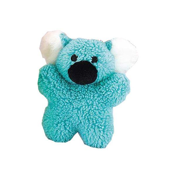 Zanies Cuddly Berber Babies Dog Toy Blue Koala Small Dog Toys