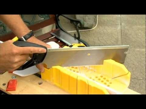 How To Use A Mitre Box 2 Esther Maria Santiago S Latin American