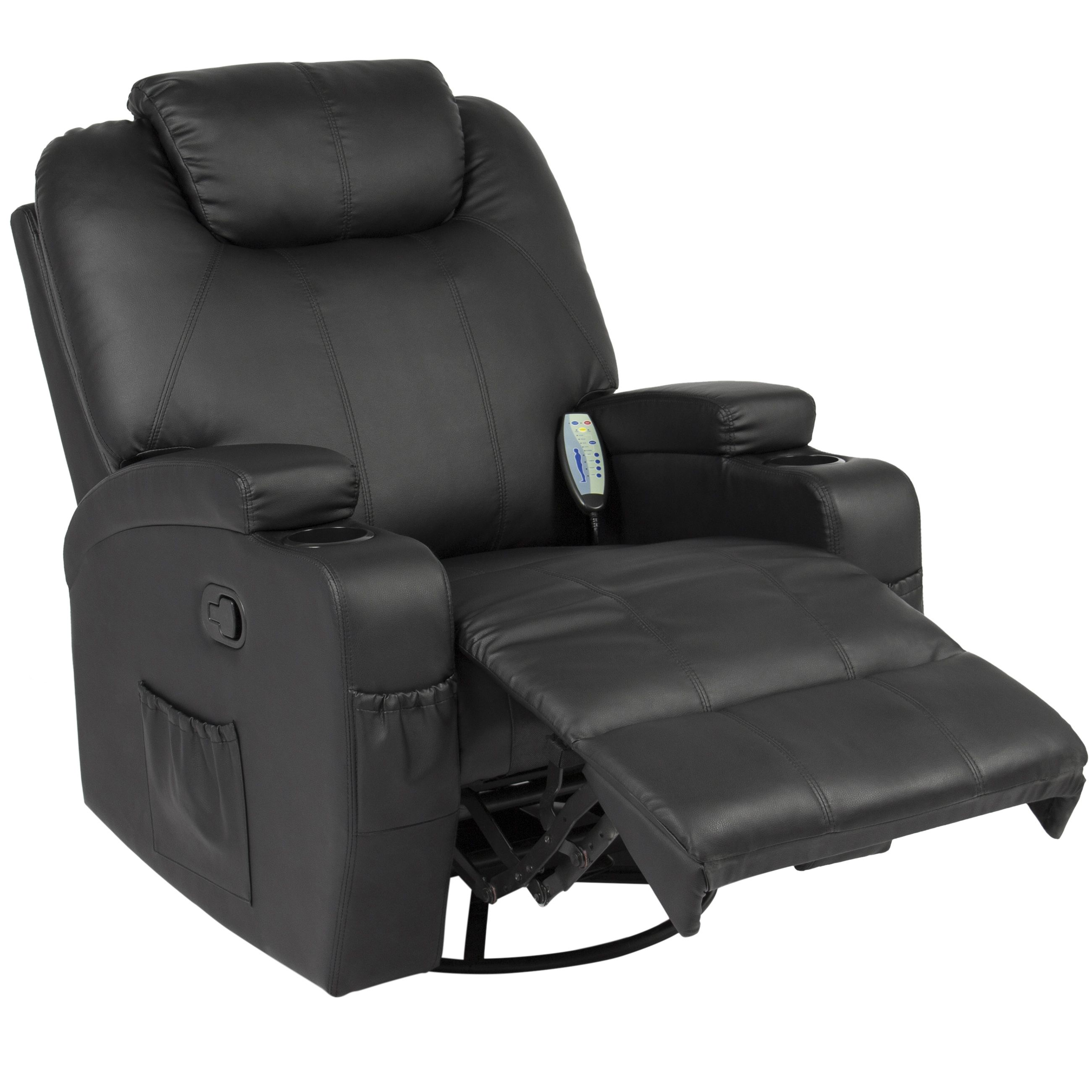 Best choice products executive pu leather swivel electric