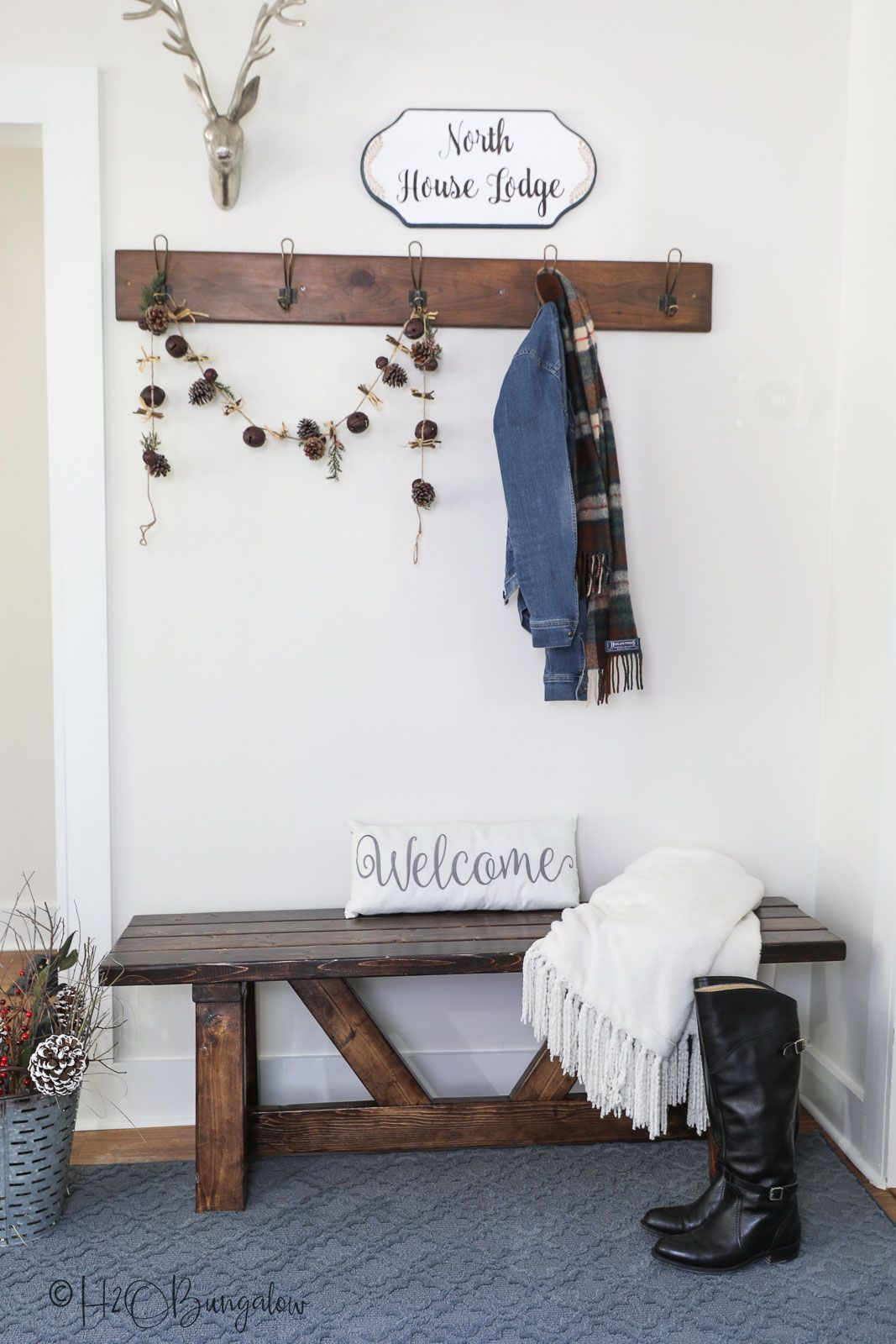 create a relaxing entryway in 3 simple steps. i used relax